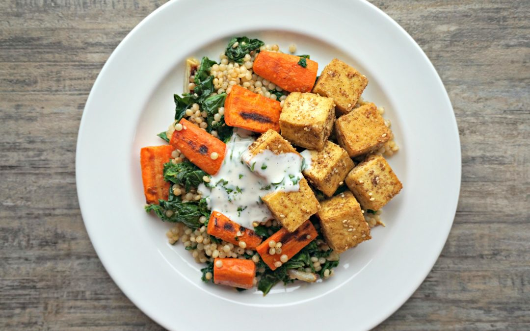 Dukkah Crusted Tofu