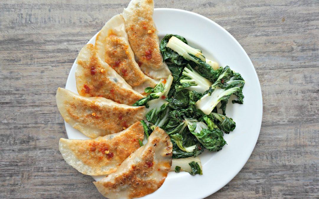 Tofu And Cabbage Potstickers