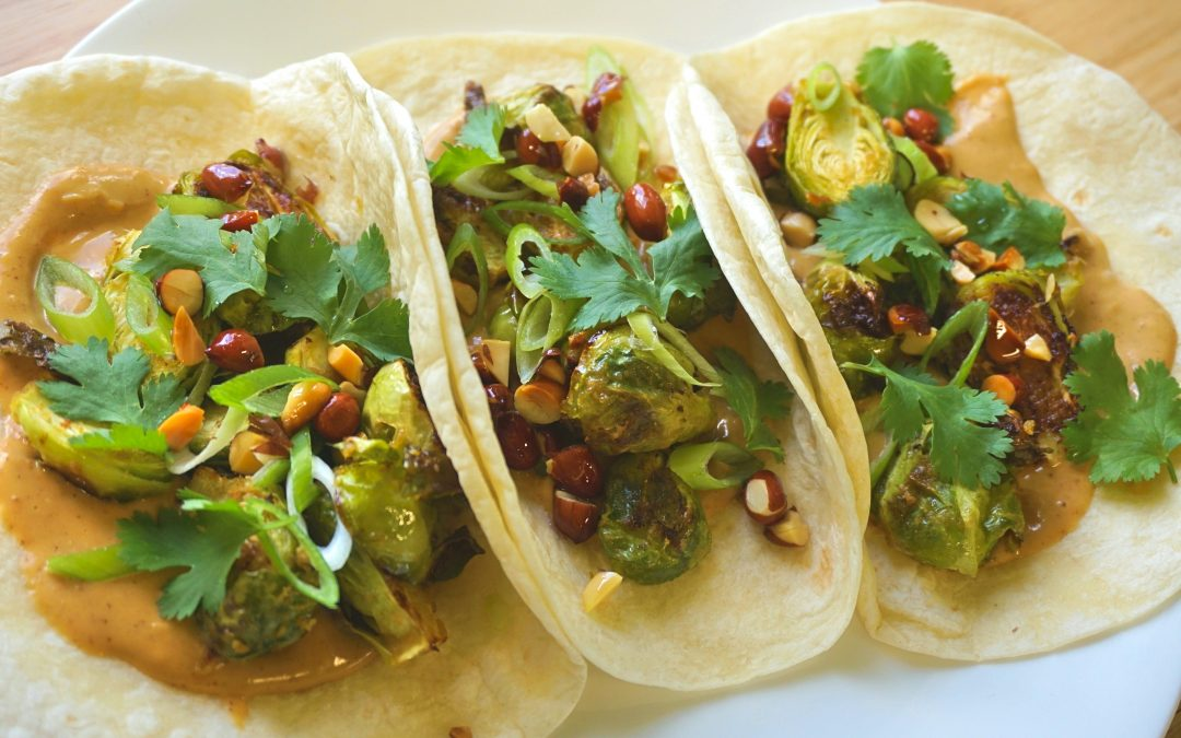 Thai Brussels Sprouts Tacos