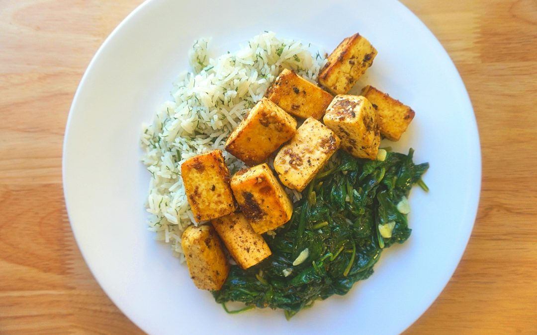 Baked Tamarind Tofu