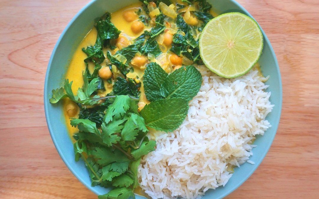 Chickpea & Kale Stew