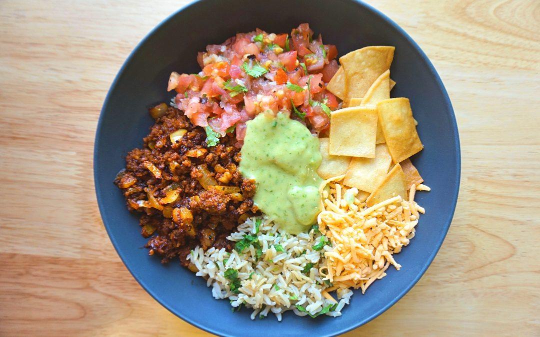 Chorizo Burrito Bowl