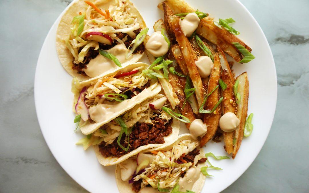 Asian Street Tacos
