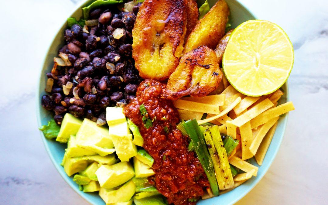 Plantain Taco Bowl