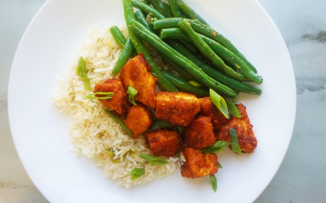 Spicy Southern Style Tofu