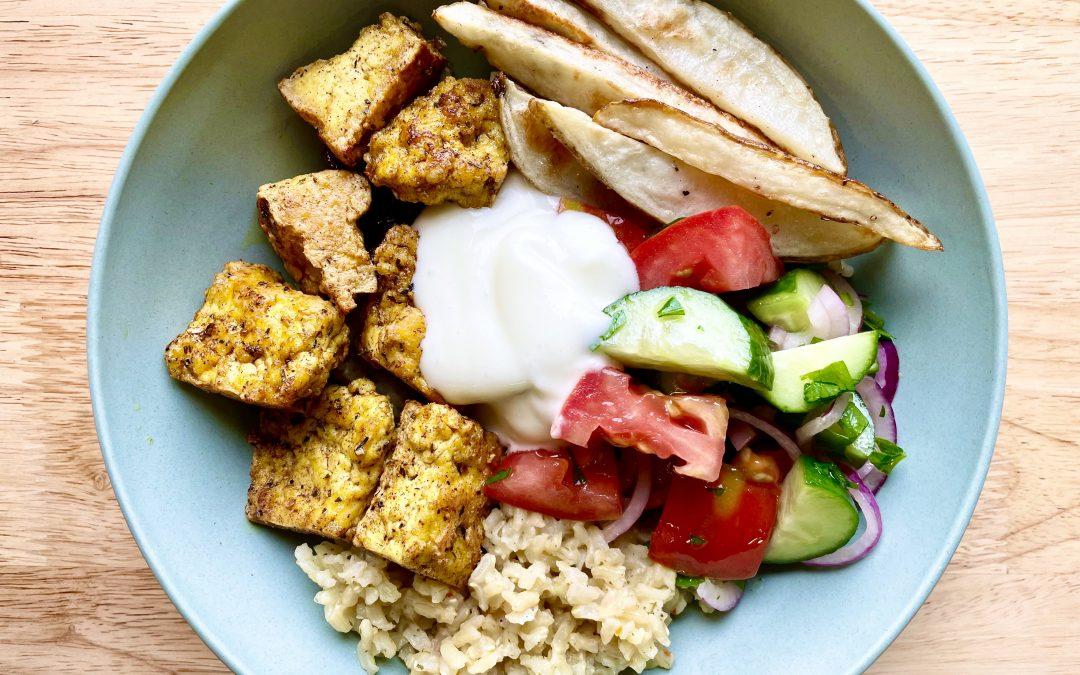 Tofu Gyro Bowl